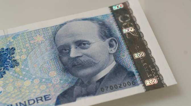 Man trenger ikke ta imot kontanter i Norge heller