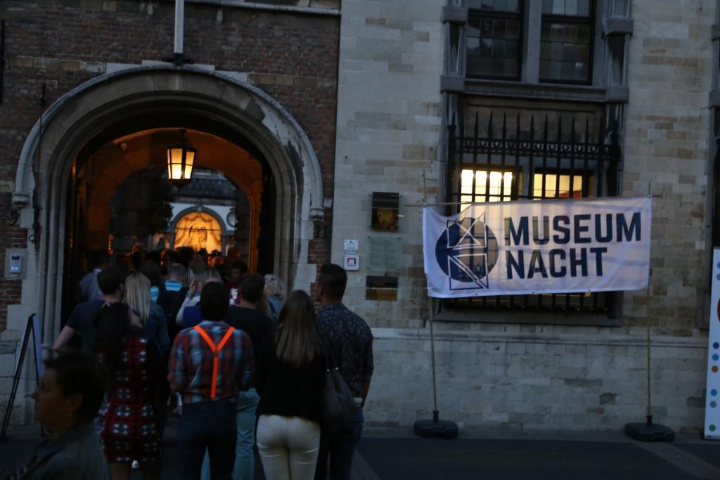 Museumsnatt, Antwerpen