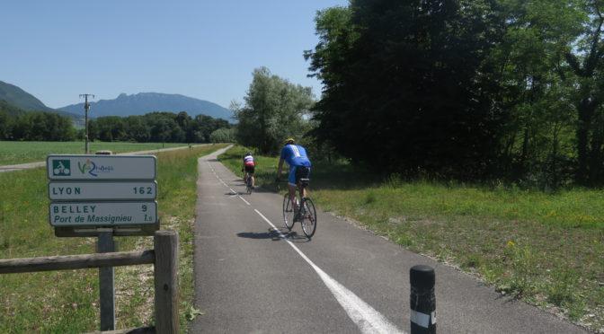 ViaRhona dag 7: 24. juni — langs Rhônen