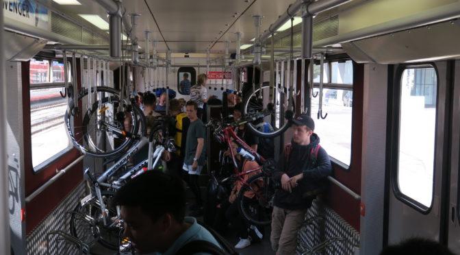 Bikerail 2018 — med sykkel på Interrail. Dag 1: Båt til København