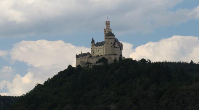 Rhinruten dag 13, 6. august: Mittelrhein, blant historiske og mytiske damer