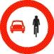 Forbikjøring av sykkel forbudt