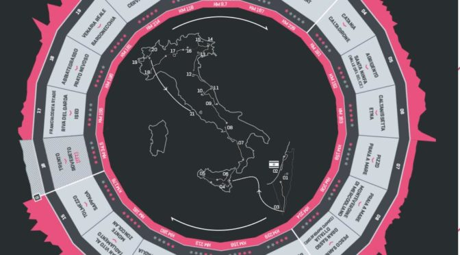 I vini del Giro d'Italia 2018: 17. etappe: Riva del Garda — Iseo (Franciacorta stage)