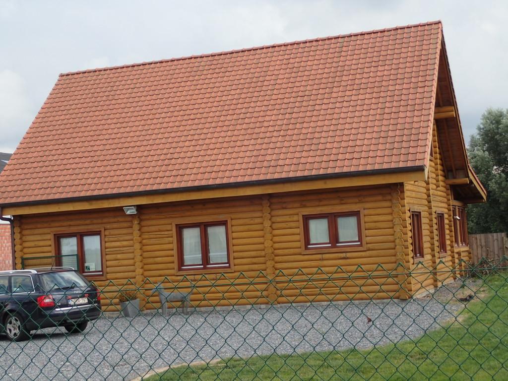 Laftet hus