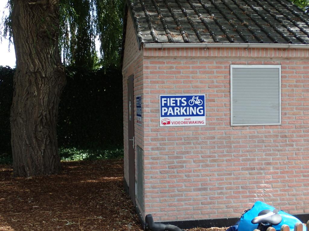 Videoovervåket sykkelparkering