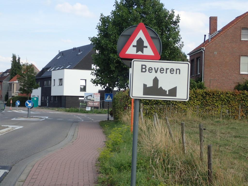 Beveen, skilt