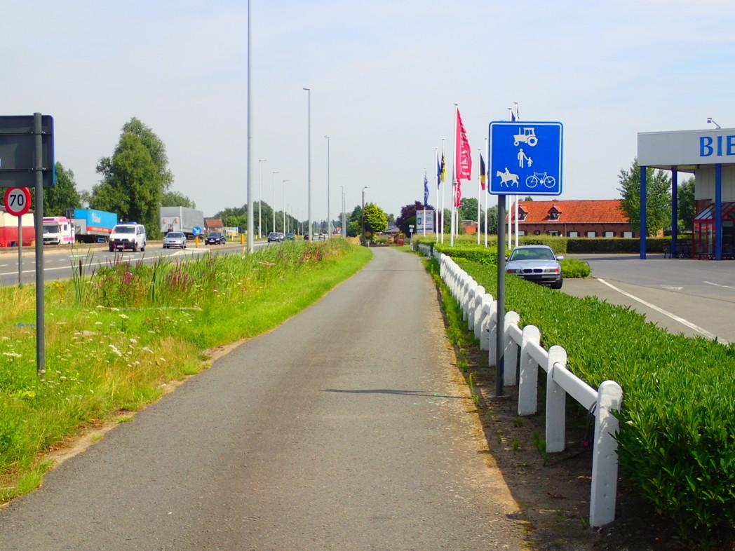 Langsomvei, Belgia