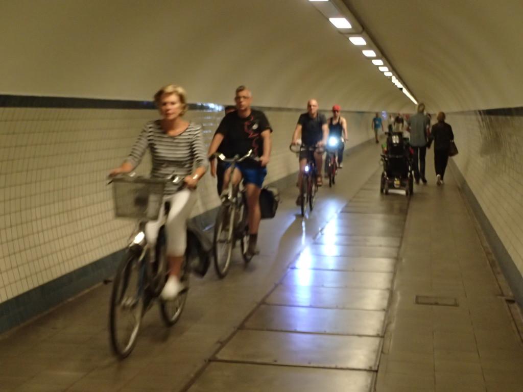 Sykkeltunnel, Antwerpen
