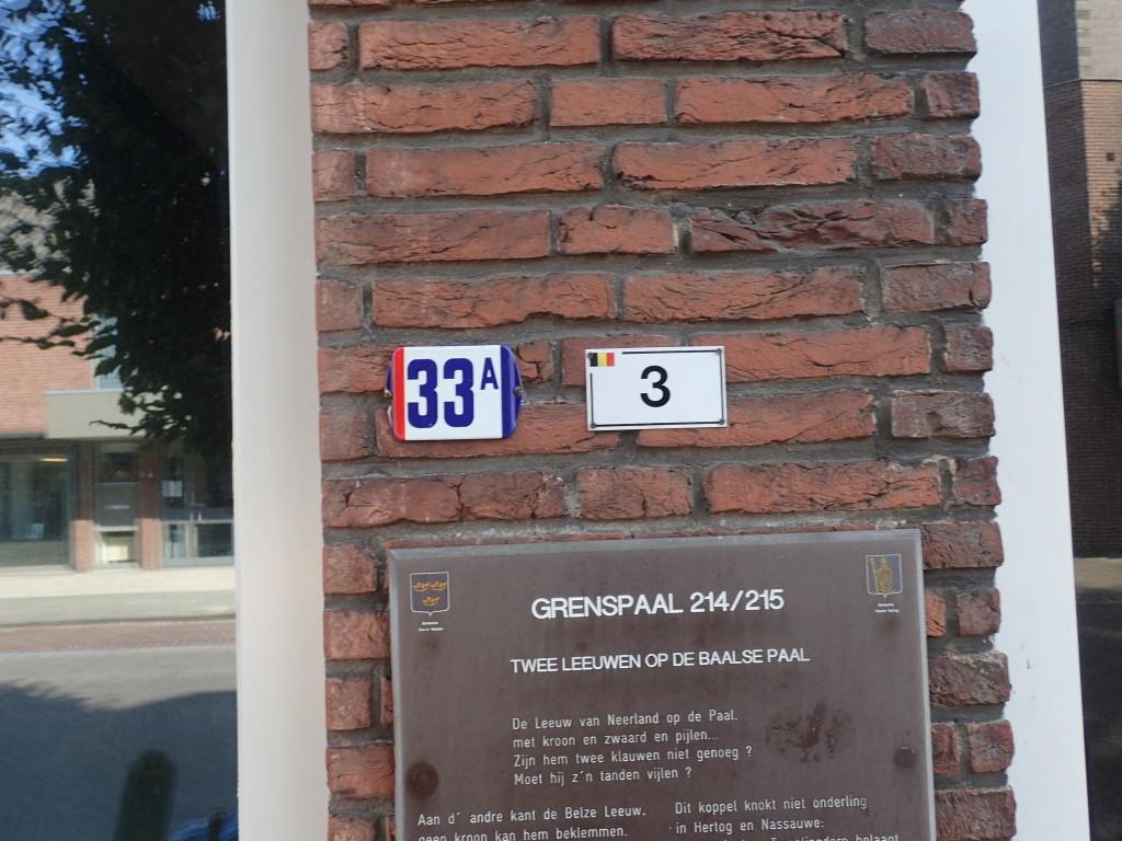 Baarle husnummer