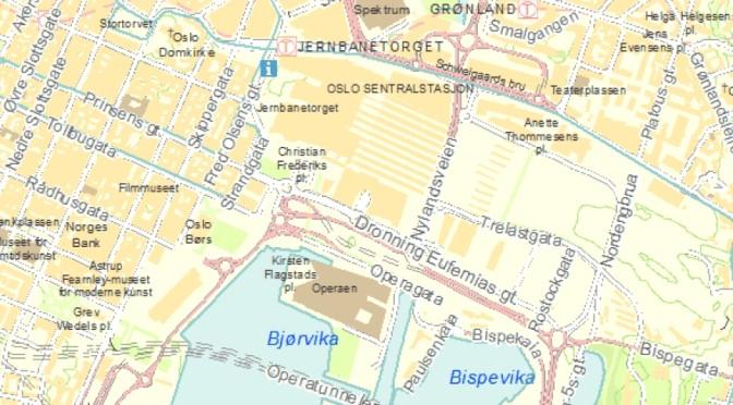 Rettigheter til plankart? Feil fra Oslo kommune ved Plan- og bygningsetaten