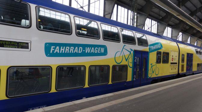 Bikerail 2018 — med sykkel på Interrail. Dag 4: Togdag. Rødbyhavn — Groningen