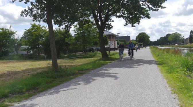 Bikerail 2018 — med sykkel på Interrail. Dag 6: Groeningen — Heerenveen