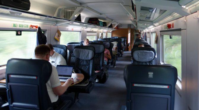 Interrail med Brompton 2019. Hjemreise