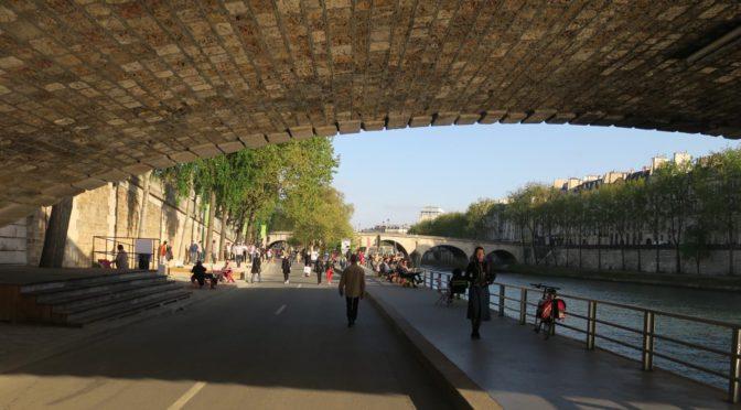 Paris har stengt noen store bilveier og har blitt en bedre by