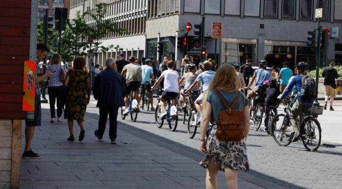 Medienes kampanje mot syklister virker. @Aftenposten koker tynn agurksuppe på en meningsmåling