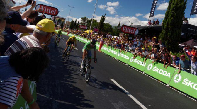 Variert drikkemeny i Tour de France 2017