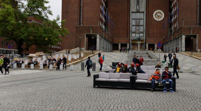Løgnhistorier om parkering fra Jarle Aabø og Oslo flaggfabrikk