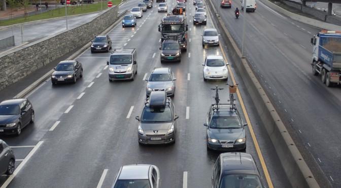Er stor fart målestokken på en god vei?