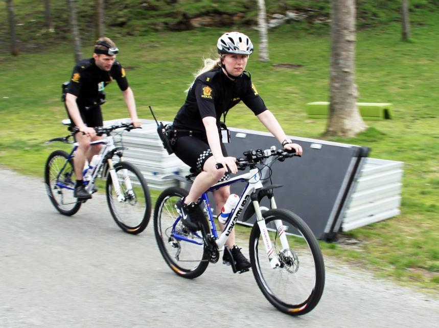Sykkelpoliti