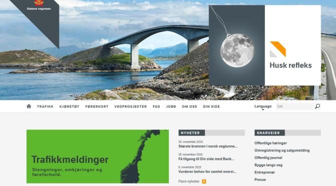 Statens vegvesens nettsider viser hvor lavt de prioriterer syklister @presserom