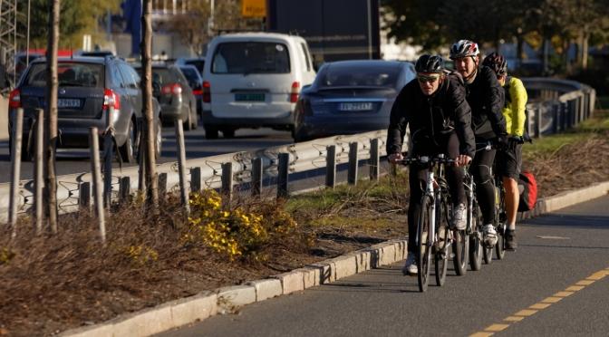 Vi trenger fler menn på sykkel!
