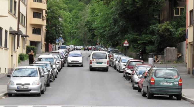 Mobbing av gateparkerende bilister???