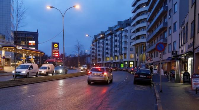 Meningsløse firefeltsveier i Oslo 1: Sørkedalsveien