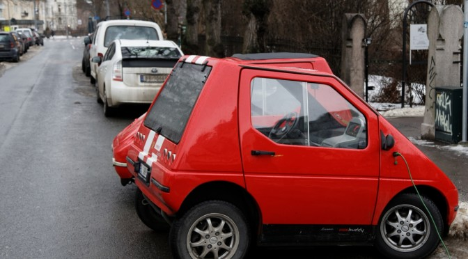 Trafikkfarlige parkeringsregler for el-biler
