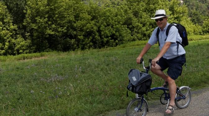 Brompton sykkel — et stykke engelsk ingeniørkunst