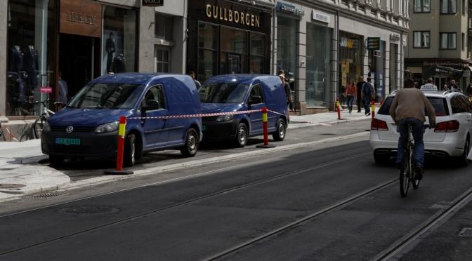 Flott at @Aftenposten setter søkelys på sykkelforhold i Oslo @eghan #sykkelpatruljen