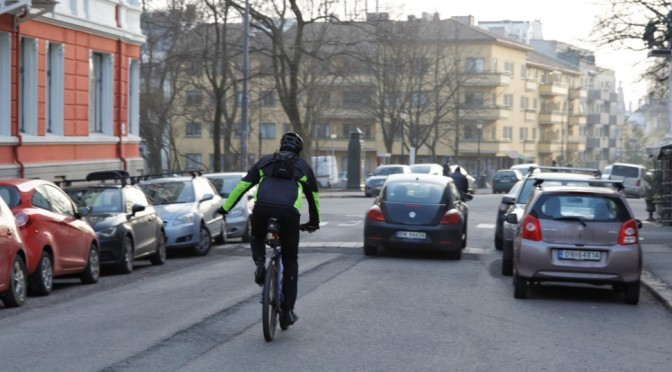 Hvorfor kritisere syklister for deres klesvalg, Christine Baglo?