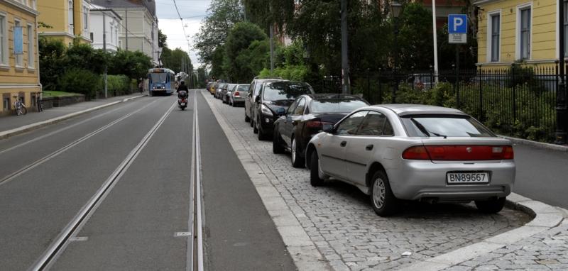 Hvor mye penger bruker Oslo på å subsidiere bilisters parkering?