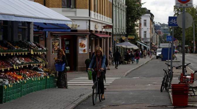 Gjør Grünerløkka til gang- og sykkelprioritert bydel. Steng området for gjennomkjøring