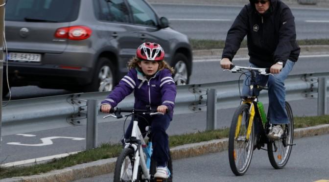 Det er vår. Finn fram sykkelen og kom deg ut påveien!