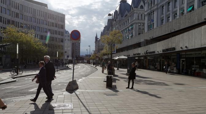 Her skulle det vært en sykkelvei. Men byrådet og bystyret har sabotert den #sykkelpatruljen @FolkeFredriksen