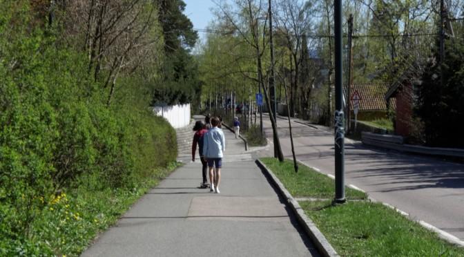 Hvorfor bruker jeg ikke alltid gang- og sykkelvei m.m?