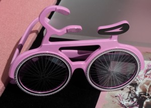 Briller spesialdesignet for å se Giro d'Italia.