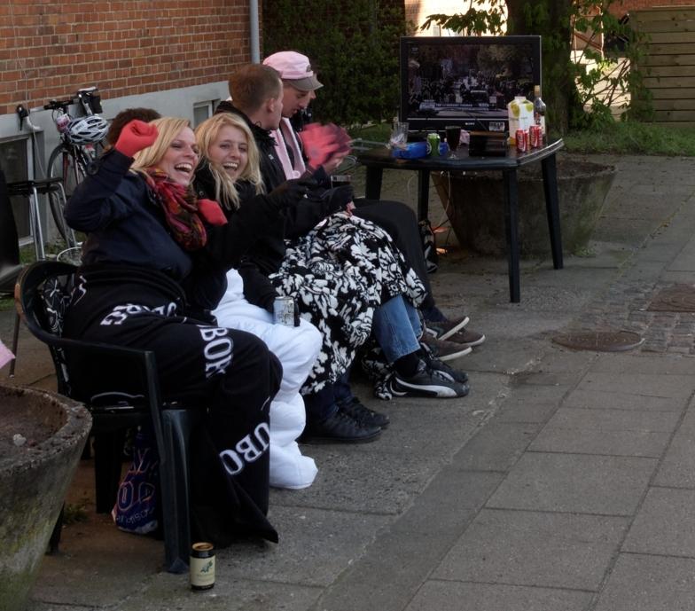 Dansk publikum har forberedt seg godt til prologen i Herning 2012.