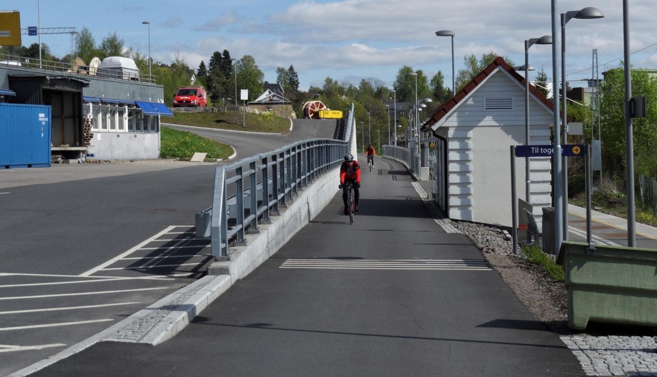 Sykkelruter i Oslo: Store ringvei 2 — Fra Smestad til Sinsen.