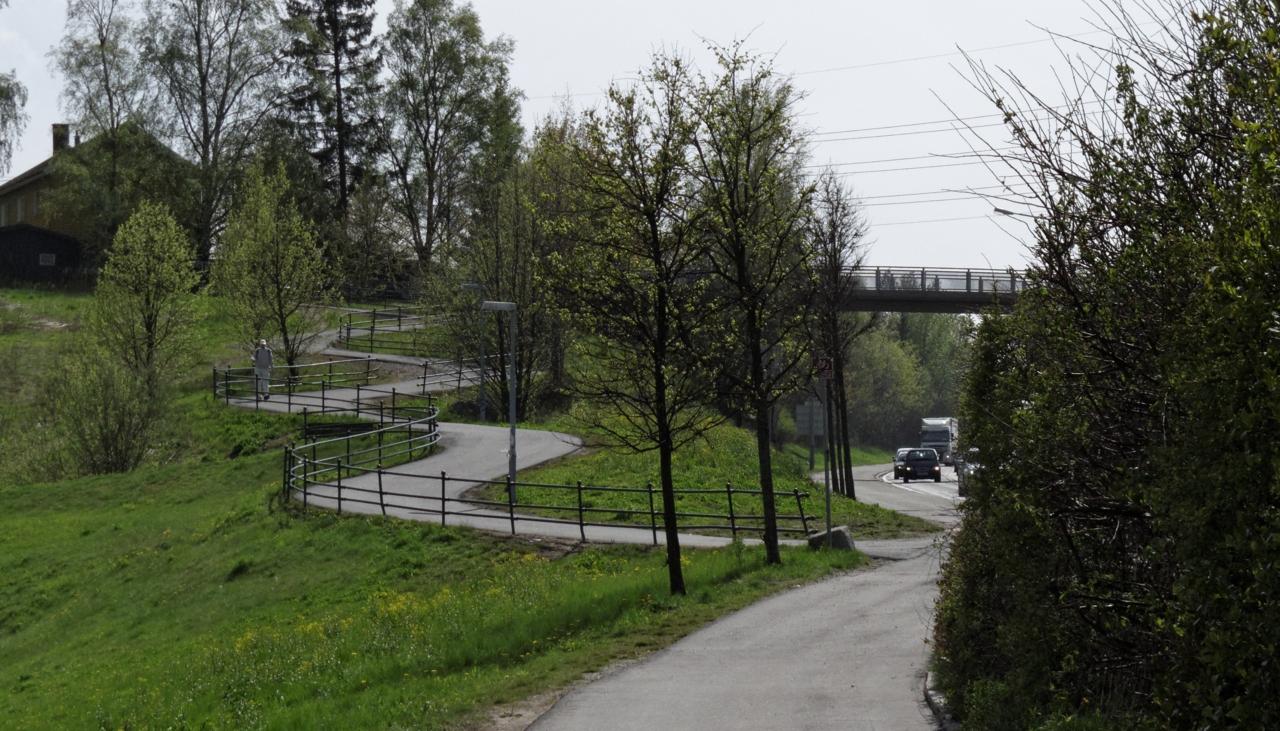 Sykkelruter i Oslo: Store ringvei 3 — Fra Sinsen til Ryen