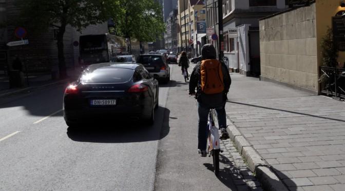 Stenersgt – sykkelfeltet som bare forsvant