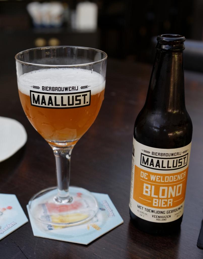 Maallust blond, øl