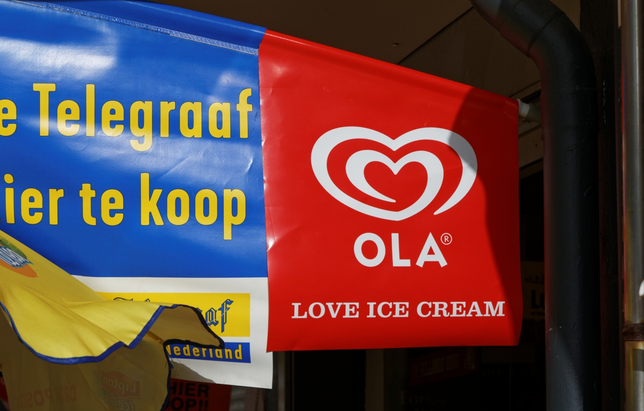 Ola love ice cream