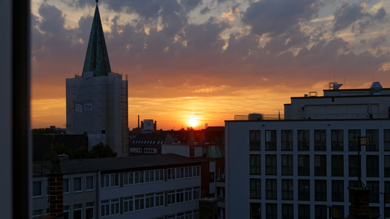 Hotellutsikt, Bremen