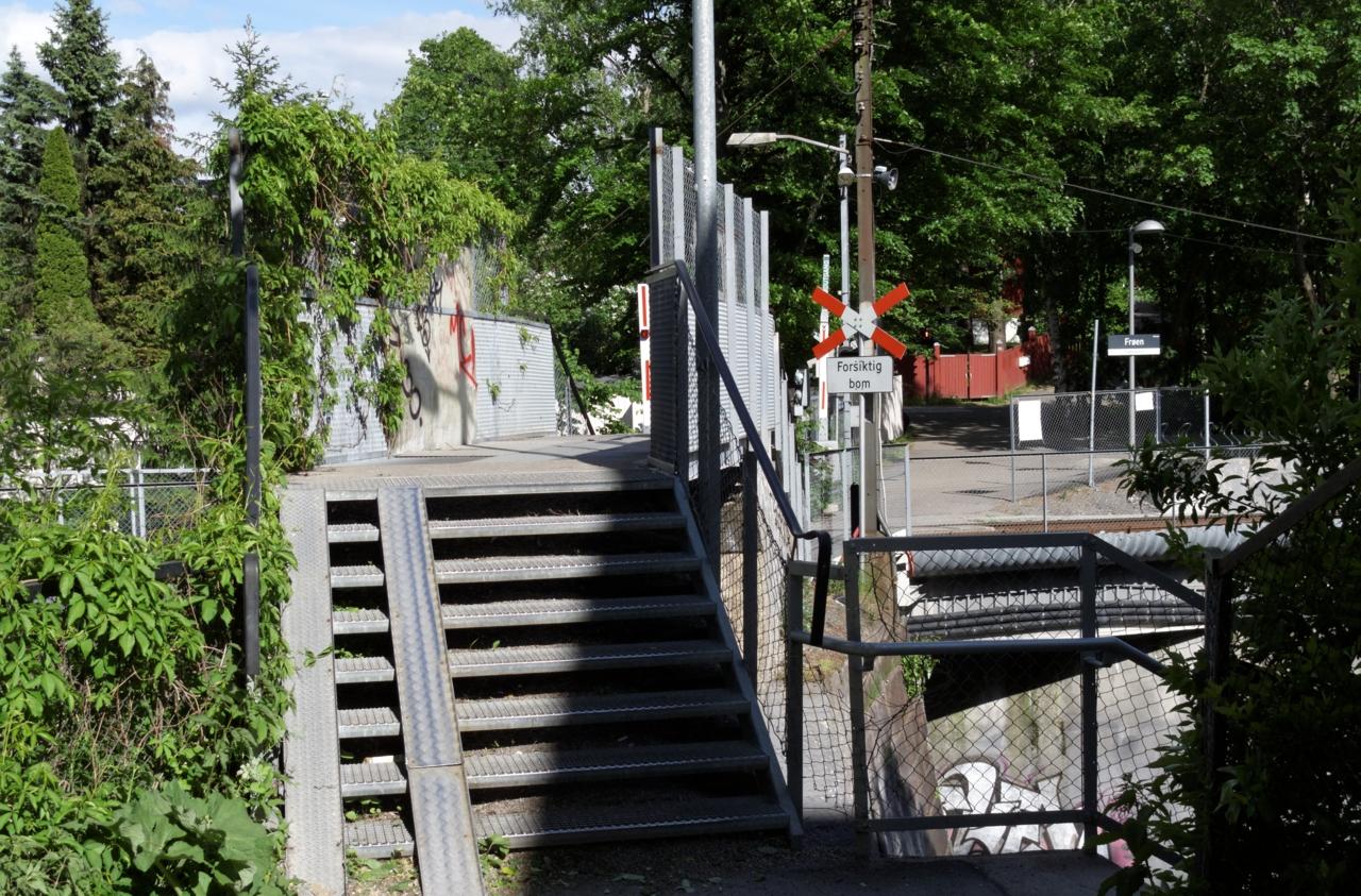 Sykkelstrekninger i Oslo. Mellom ringene (Skøyen-Bryn) — tur og lokalvei. Del 1 Skøyen — Blindern