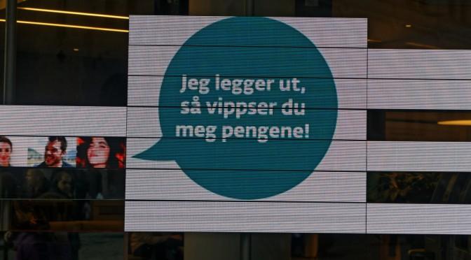 """Man kan ikke ta patent på ord. @<span class=""""caps"""">NRKP2</span> annonserer at de skal gjenta tøv (Studio 2)"""