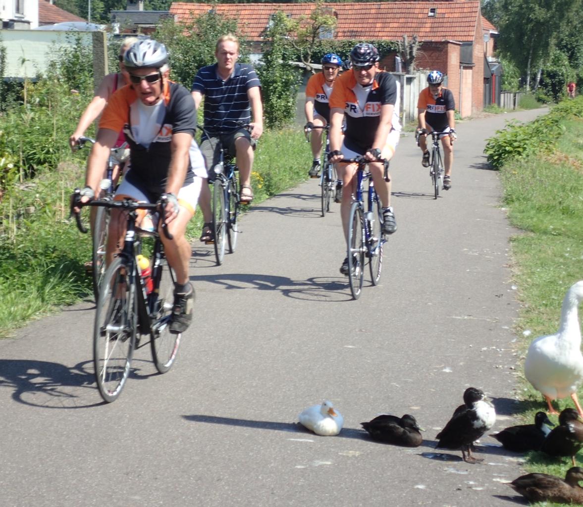 Syklister, ender