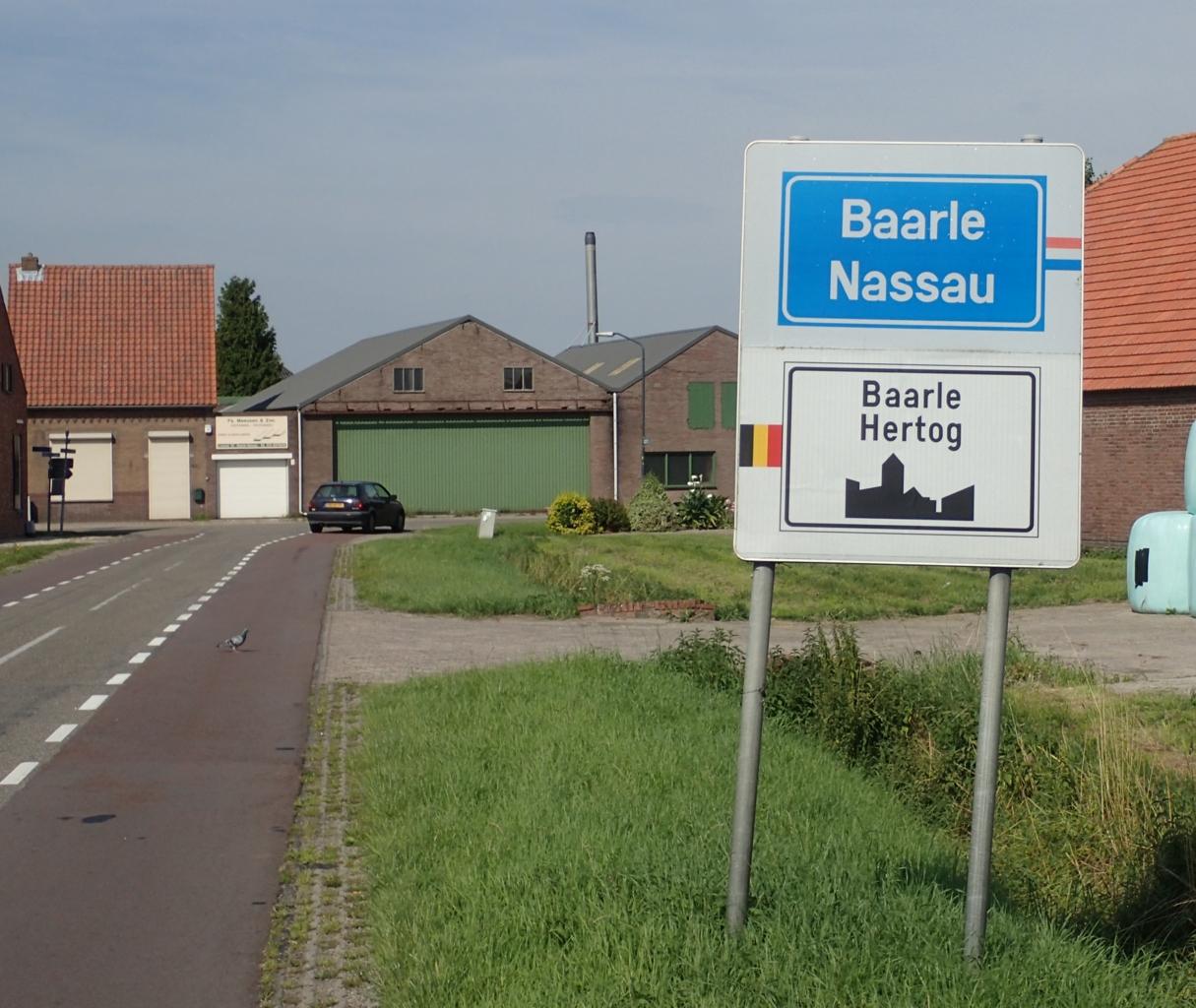 Skilt Baarle