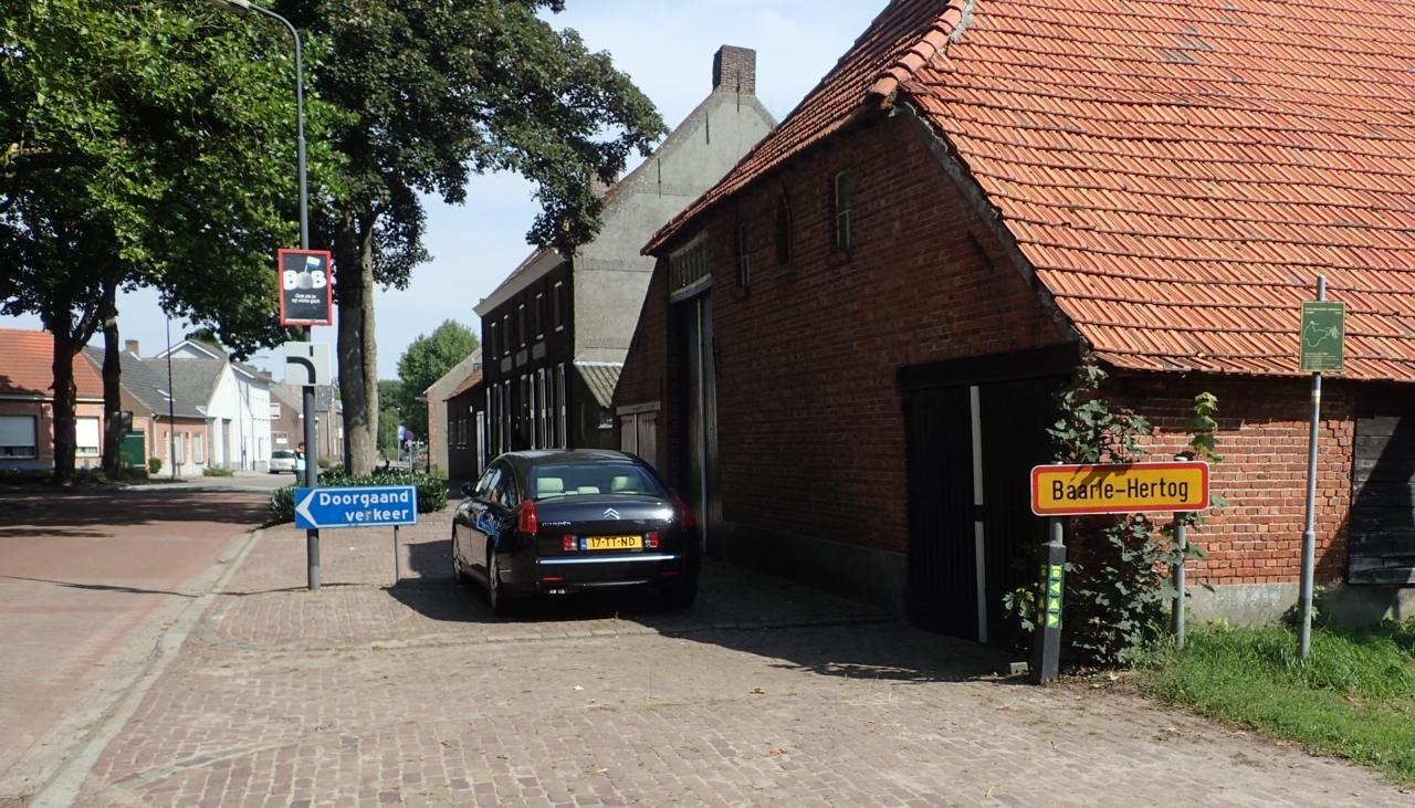 Skilt - Baarle-Hertog