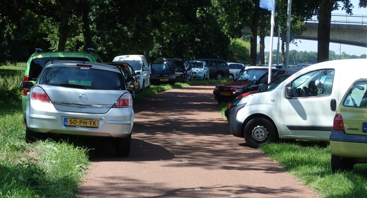 Parkering i sykkelvei